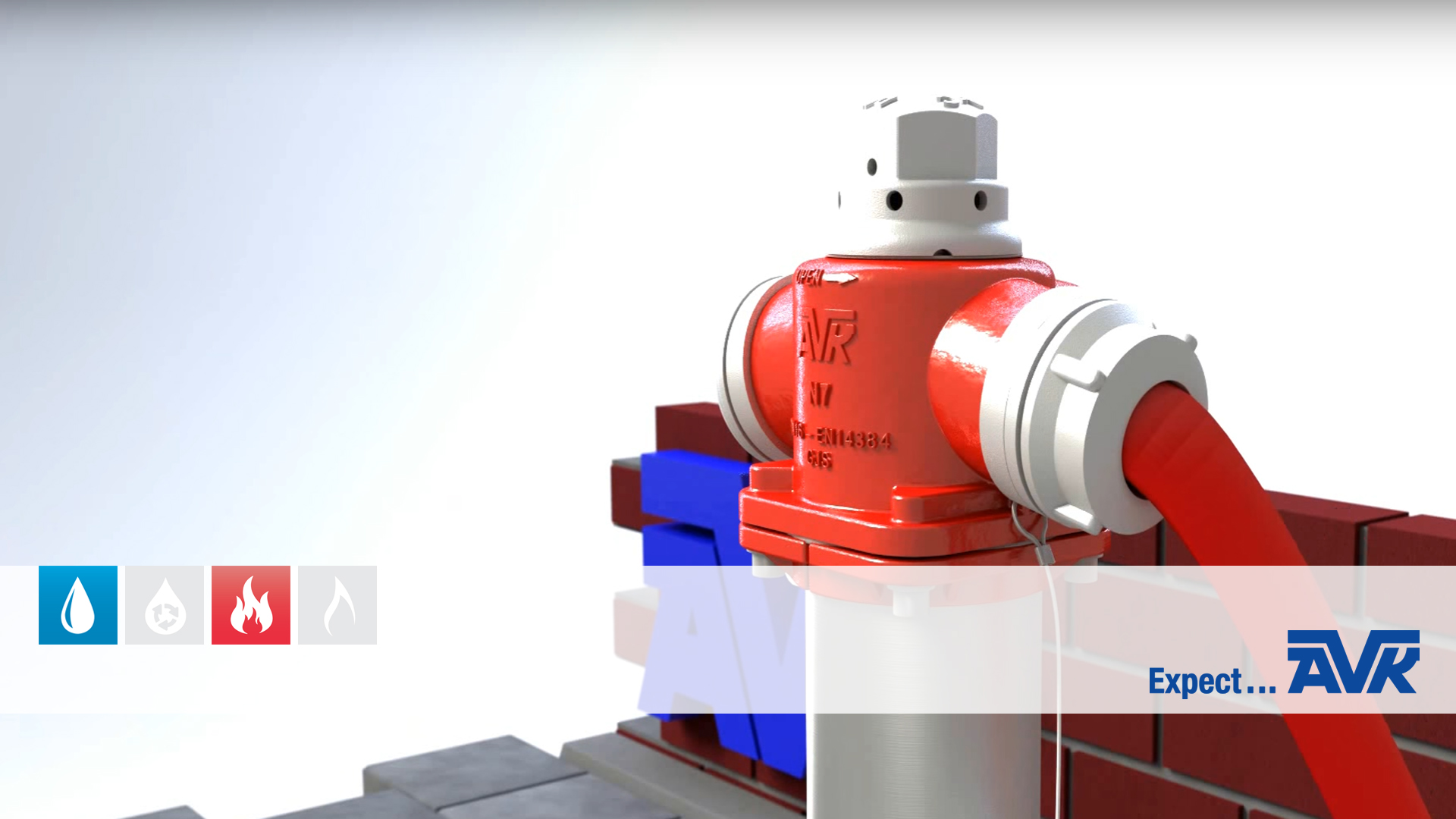 Video animation about the features and options of the Multi hydrants series 84