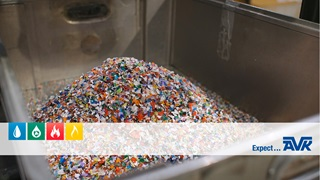 Recycled plastic waste is turned into surface boxes at AVK Plastics